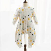 Buy cheap Unisex Muslin Baby Pajamas Cotton Fabric Plain Dyed Newborn Baby Outfits ODM / OEM from wholesalers