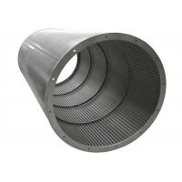 Stainless Steel 316 Johnson Wedge Wire Screens for Waste Water Treatment