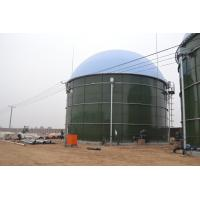 Anaerobic Digester Glass Lined To Steel Construction Tanks In Biogas / Wastewater Treatment Manufactures