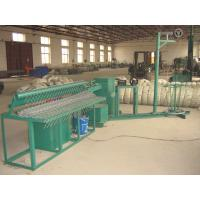 Buy cheap Auto Diamond Mesh Chain Link Fence Machine Double And Single Wire Feed from wholesalers