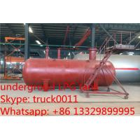 Wholesale 40 metric tons buried lpg gas tanker for export, hot sale 100,000L ASME standard underground lpg gas propane tank from china suppliers