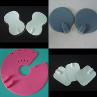 Buy cheap silicon rubber conductive tens electrode pad with sticky gel from wholesalers