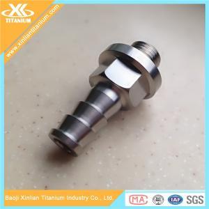 China Customized CNC Alloy Titanium Machined Parts on sale