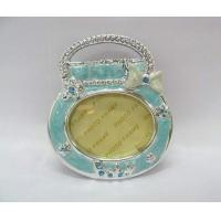 Buy cheap Poly resin wedding photo frame Precious Moments Ornaments for unusual christening gifts from wholesalers