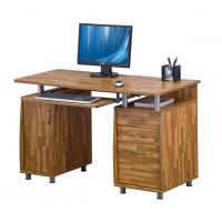 Buy cheap MDF Wooden Office Desks With Three Drawers And File Cabinet For Home PC Work Furniture DX-8585 from wholesalers