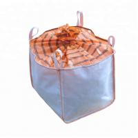 Buy cheap Side Discharge Polypropylene Big Bags , Full Open Top Jumbo Sack Bags from wholesalers