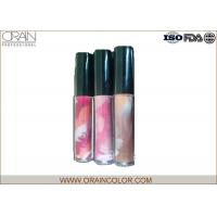 Buy cheap Pretty Girl Moisturizing Cosmetics Lip Gloss in Painting Bottle for Lip makeup from wholesalers