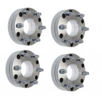 Quality 6 Lug Chevy Wheel Spacers 6061 T6 , 5x5 To 6x5.5 Wheel Spacer Adapter Anodized for sale