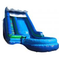 Buy cheap Inflatble Slide / inflatable pool slide / inflatable giant water slide wave slide from wholesalers