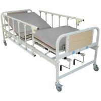 Buy cheap Multi-Purpose Handicapped Manual Hospital Bed With Mesh-Wire Mattress from wholesalers