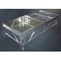 Aluminium Glass Movable Stage Platform Fixed Rust Proof For Ceremony Stage