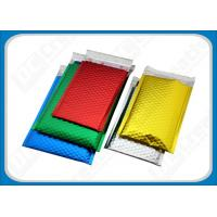 Buy cheap Color-Tinted Metallic Bubble Mailers , Aluminum Foil Bubble Mailers For Cell-Phone from wholesalers