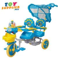 Buy cheap Brand New Double Seats Kid's Pedal Tricycle from wholesalers