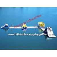 Durable Inflatable Slide Water Park With Runway For Kids Or Adults