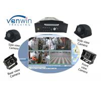 Buy cheap 64GB SD Card 4CH 1080P AHD 3G 4G WIFI And GPS Mobile NVR For Bus / Truck / Taxi from wholesalers