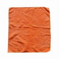 Buy cheap Microfiber Cleaning Cloth, Measures 40 x 38cm, Various Colors and Sizes are product