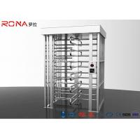 Buy cheap Semi - Auto Pedestrian Turnstile Gate Full Height 30 ~35 Persons / Minute from wholesalers