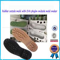 Buy cheap Pvc Shoe Strap Mold conbines EVA dip Shoes sole Mould from wholesalers