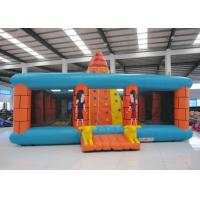 Buy cheap Outdoor Amusment Park Inflatable Rock Climbing Wall 8 X 8m 0.55mm Pvc Tarpaulin from wholesalers
