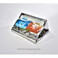 Buy cheap thermal bag isothermal shopping tote bag with plastic handle from wholesalers