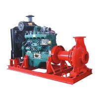 Buy cheap Electric start diesel engine fire pump water 100 hp High pressure 6 inch suction 50m head from wholesalers
