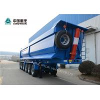 Buy cheap High Strength Steel CIMC Semi Truck And Trailer 6 Axles 120 Tons In Blue from wholesalers