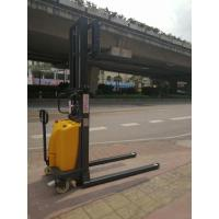 Buy cheap Compact Structure Semi Electric Stacker With 1.6kw Powerful Lift Motor 1500kg 2500mm from wholesalers