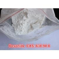 Buy cheap 99% High Purity Antiinflammatory Desonide Raw Powder Steroderm CAS: 638-94-8 Pharmaceutical Raw Material from wholesalers