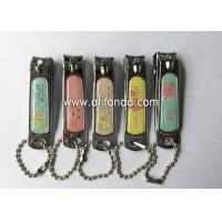 Wholesale Souvenir Customized Engraved Nail Clipper Keychain Metal Souvenir Nail Clippers from china suppliers