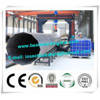 Wholesale Street pole assembling machine for wind tower production line , Heavy light pipe welding machine from china suppliers