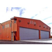 Buy cheap Military Base Aircraft Building Steel Structure Hangar For Drum Storage from wholesalers