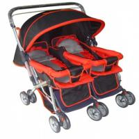 Wholesale lovely twin  baby stroller with adjustable backrest from china suppliers