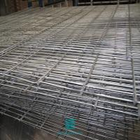 Buy cheap Twin wire 6/5/6mm fencing mesh fence double wire galvanized welded wire mesh fence panel from wholesalers