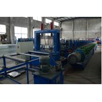 Heavy Duty 1.5-4mm G.I Steel Perforated Cable Tray Roll Former High Speed Fully Automatic