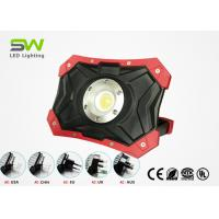 Buy cheap 10W COB 1000 Lumen Portable Rechargeable Led Work Light With Rotatable Magnet Stand from wholesalers