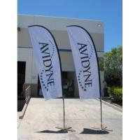 Buy cheap Customized Feather college flags and banners , wind banners flags from wholesalers