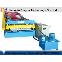 Buy cheap 10-15M / Min Forming Speed Corrugated Roofing Sheet Roll Forming Machine from wholesalers
