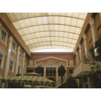 Buy cheap Architectural Tension Shade System Skylight Motor Heat Resistance Fiberglass Fabric from wholesalers