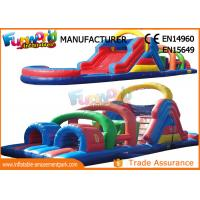 Wholesale Interesting Inflatables Obstacle Course For Amusement Park / Fun City from china suppliers