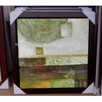 Buy cheap Framed Acrylic Abstract Art Canvas Paintings Modern Wall Pieces For Living Room product