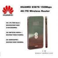 Buy cheap Huawei E5878 4G LTE Mobile wifi hotspot new wireless router 150Mbps LTE wifi 4G router from wholesalers