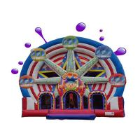 Buy cheap Ferris Wheel Inflatable Combo Bounce House Blow Up Commercial Jumping Castle from wholesalers