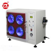 Buy cheap Fabric Shuffle Pilling Textile Testing Machine With Four Box Type 220V 50hz from wholesalers