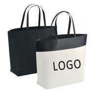 Wholesale Customized Logo Printed Gift Bag Bucket Shape Paper Bag With Plastic Handle 250x270x100mm from china suppliers