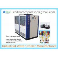 Buy cheap Plastic Injection Machine Mould Cooling 10 Tons Air Cooled Water Chiller from wholesalers