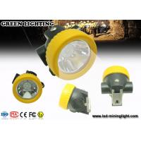 Buy cheap PC Material Small All in one Coal Miner Hard Hat Light with Li ion Battery from wholesalers