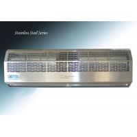 China Stainless Steel Cover Entryway Commercial Overhead Door Air Curtain on sale
