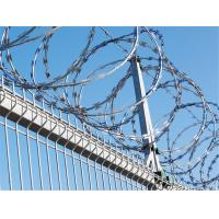 Wholesale Manufacturer BTO-22 Galvanized Stainless Steel Military Concertina Razor Wire from china suppliers