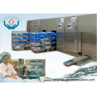 Buy cheap Front Loading Sliding Door Hospital Steam Sterilizer With High Capacity Water Cooled Condenser from wholesalers