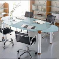Buy cheap Conference Table with Steel Tube, Contemporary Design, Easy to Assemble from wholesalers